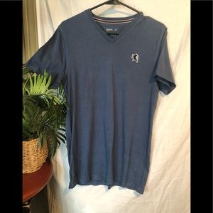 Men's blue express short sleeve T-shirt size S/p